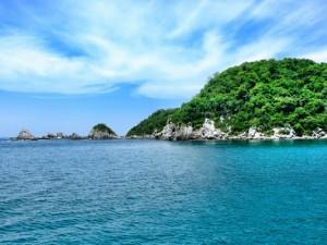 Bahías de Huatulco, región de la costa