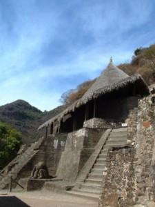 Malinalco: La casa de las águilas, trono de guerreros