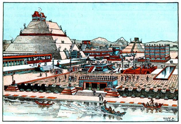 México Tenochtitlan, origen del nombre y de la Patria