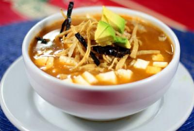 Sopa de Tortilla Zacatecana