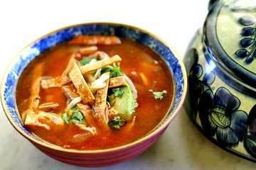 Sopa Tlaxcalteca