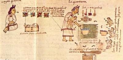 Cocina típica de la zona maya