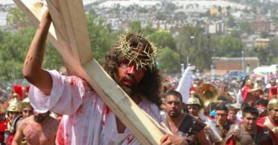 Vía Crucis en Iztapalapa