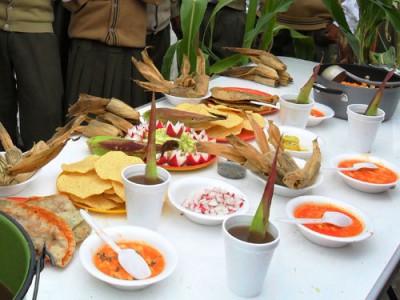 Culto al maíz en Ixcaquixtla