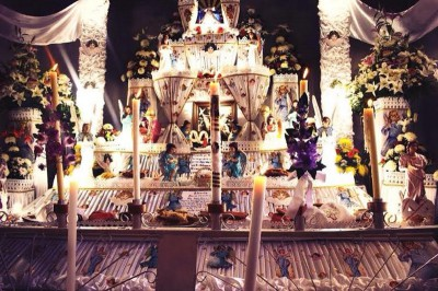 Día de muertos en Huaquechula