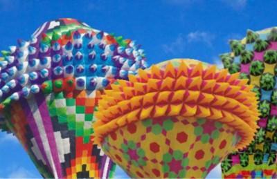 Festival de globos de papel de china de Zongozotla y Tuzamapan