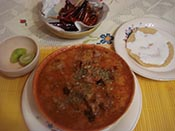 Sopa de migas de Tepito