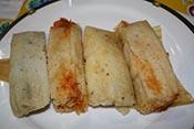 Tamales estilo Ciudad de México