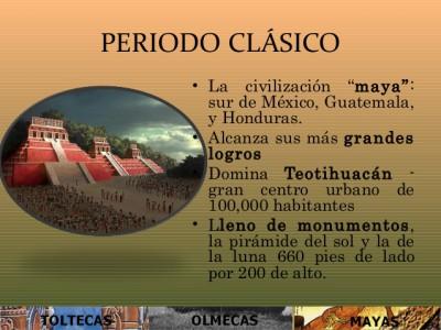 Periodo clásico en México (100/250-650/900 d. C.)