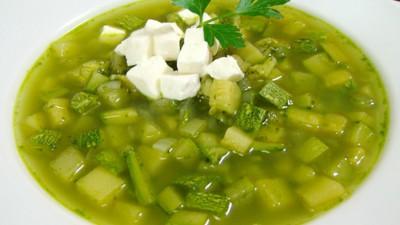 Sopa de Calabacitas Morelenses