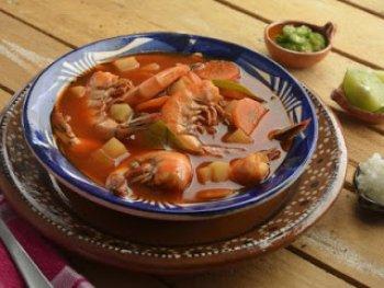 Acamaya con chile ancho